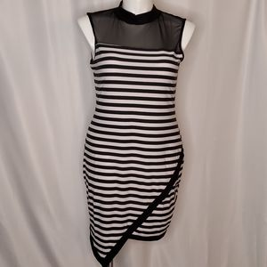 SALE Curve Revolution striped fitted dress